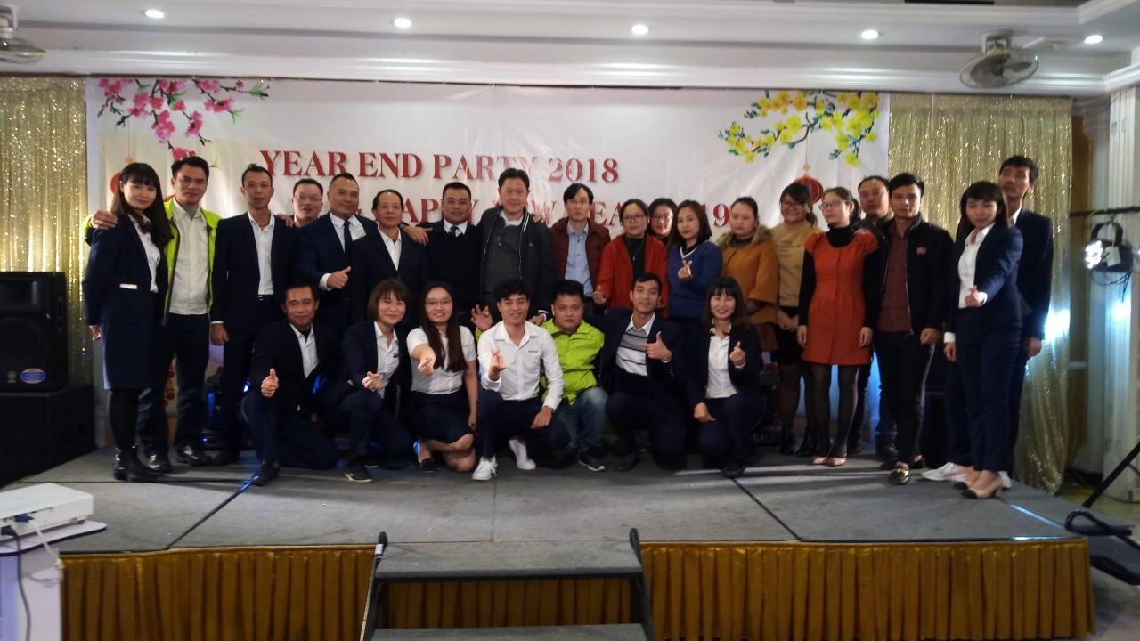 Buổi tiệc đặc biệt cuối năm giữa MIZA và Công ty TNHH Box Pak Hà Nội.