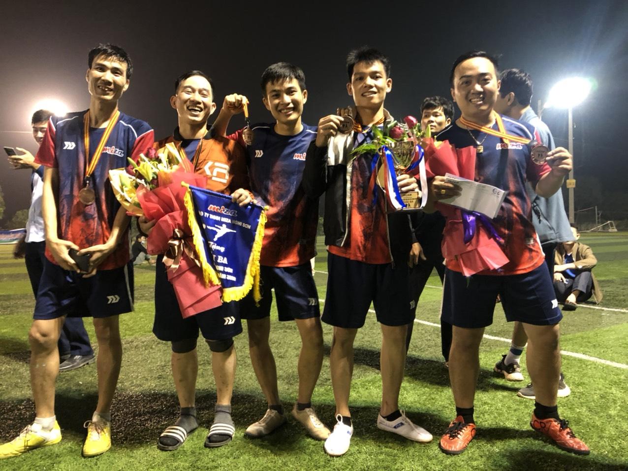 Giải bóng đá CUP Miza Nghi Sơn lần thứ I năm 2020