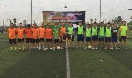 Giao lưu bóng đá giữa Công ty cổ phần MIZA và Ngân hàng TMCP Hàng Hải Việt Nam