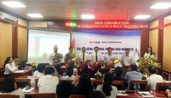 Miza tổ chức thành công ĐHĐCĐ thường niên năm 2018