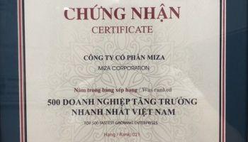 TOP 500 Doanh nghiệp tăng trưởng nhanh nhất Việt Nam (FAST500)