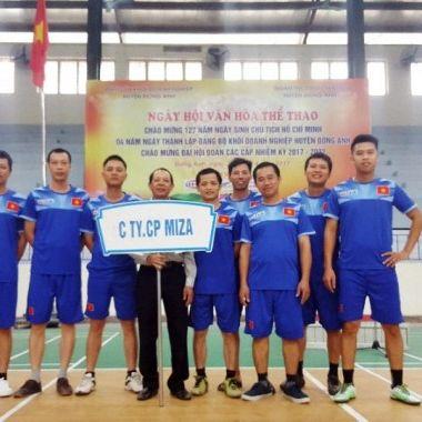 Giao lưu thể thao văn hóa giữa các doanh nghiệp huyện Đông Anh